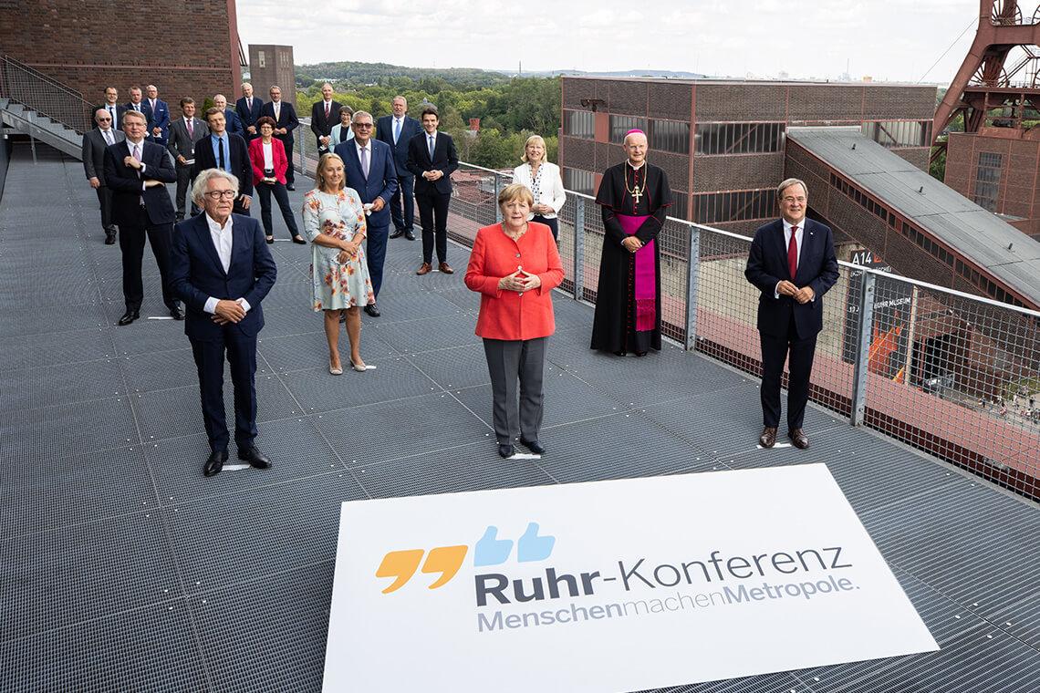 Ruhr-Konferenz mit der Kanzlerin