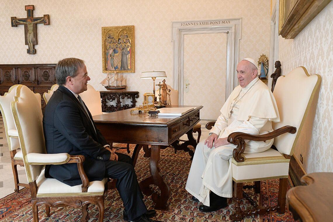 Gespräch mit Papst Franziskus